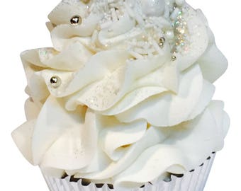Wedding Day Cupcake Bath Bomb