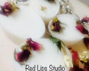 La Vie En Rose-Artisan Handmade Bar Soap-Rose Otto, Lemon-Luxurious!