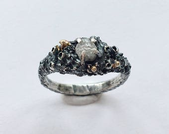Skadi Rough Diamond Ring