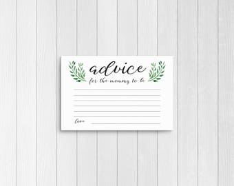 Superb Baby Advice Cards / Baby Shower Advice Cards / Advice Cards / Baby Shower /  Baby