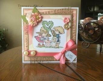 Anniversary/Love/Valentine's/Any Occasion Handmade Greeting Card