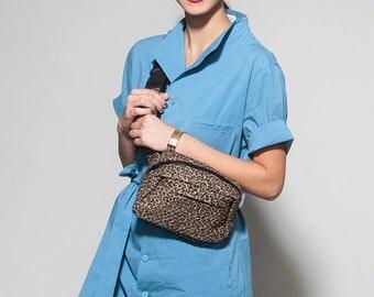 vegan fanny pack - vegan bum bag - waist pouch bag - waist bag women - hip bag belt pouch - travel pouch - hip pouch belt - POUCHF