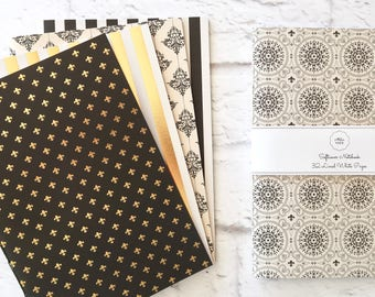 Paris Softcover Notebook Hand Bound Travelers Notebook Writing Notebook Diary Lined Notebook 32 Lined White Pages *** Sold Individually ***