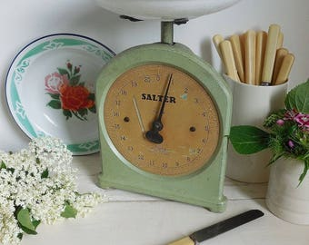 Wonderful vintage kitchen scales, weighing scales, Salter