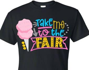 Take me to the fair svg | fair svg | county fair svg | cotton candy svg | fair doodle svg | county fair design svg | county fair party