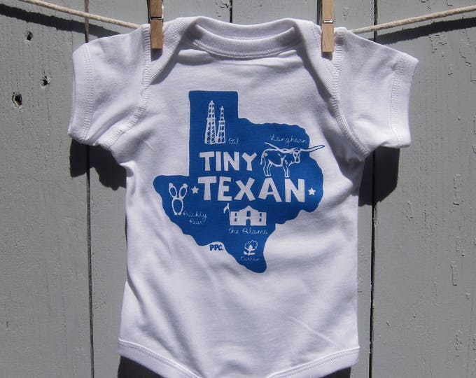 The Tiny Texan Baby Romper/Bodysuit