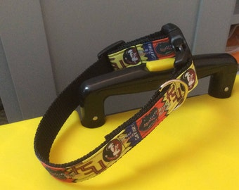 Gator/FSU House Divided Dog Collar