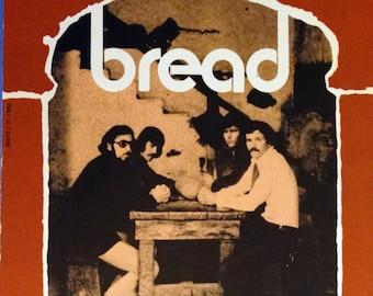 If 'Bread' Photo Cover, vintage sheet music by David Gates 1971 guitar tablature, near mint Charles Hansen 06610 Elektra Records Columbia