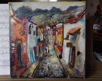 Spanish Street Scene (prints)