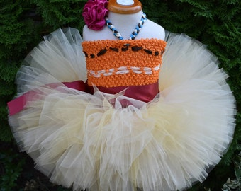 Moana Costume, Moana Tutu, Halloween Tutu, Halloween Costume, Toddler Halloween Costume, Birthday,  Toddler Costume, Moana Tutu Dress, Sewn