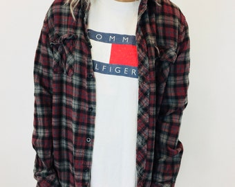 Thick Cotton Flannel Shirt