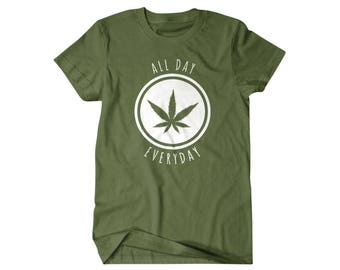 420, Weed shirt, Stoner gift, Smoke weed everyday,  funny shirts, gift for him, and her, hilarious tees