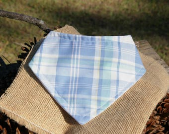 Plaid Handkerchief Drool Bib