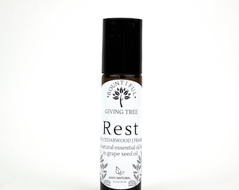 HEALTHY SLEEP AROMA Roll-On, Healthy Sleep Aid, 10ml Crafted w/ Essential Oils, Spa & Relaxation, All Natural Sleep Aid , Restful Sleep