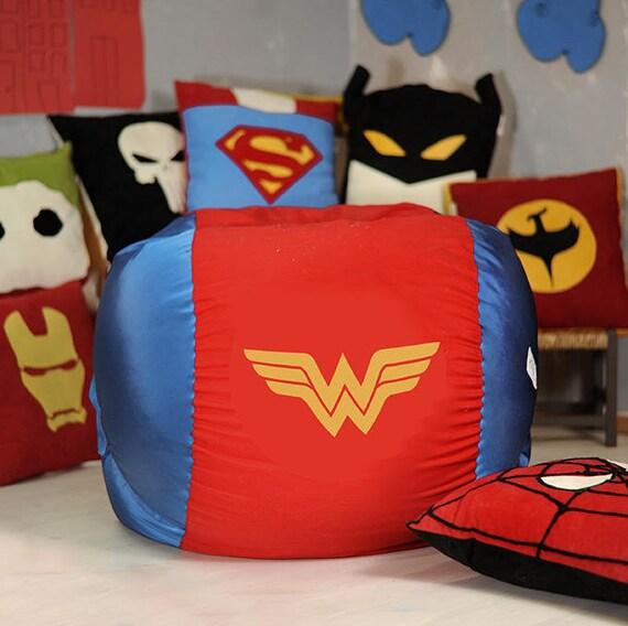 Wonder Woman Beanbag Chair Cover