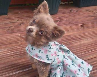 Dog Clothes - Chihuahua Clothes - Chihuahua Dress - Dog Dress - Small Dog Clothes - Harness Coat - Chihuahua - Dog Outfit - Unicorn Dog