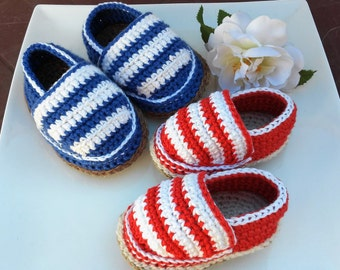 Crochet baby shoes- Baby Espadrilles- Crochet espadrilles- Baby shoes- Baby shower- Baby slippers- Unique baby gift