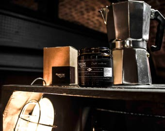 Cafe Cubano Wood Wick Scented Soy Wax Candle