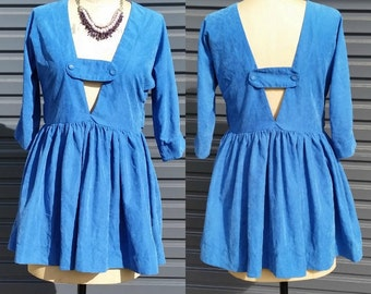 Reversible Blue Top