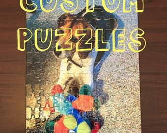 PHOTO PUZZLES, Custom Puzzle, Personalized Puzzles