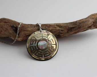 ABALONE SHELL NECKLACE, Abalone Shell Pendant, Abalone Shell Jewelry, Beach Jewelry, Jewelry For Him, Jewelry For Her, Sea Shell Jewelry
