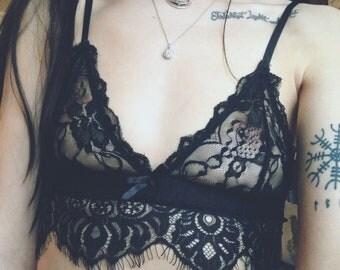 Bralette/Black Bralette/Basic Bralette