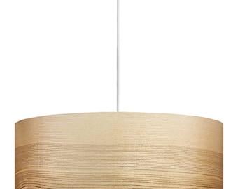 Wood Pendant Lamp - Wooden Chandelier - Wood Lamp - Modern Lighting - Veneer Lamps - Gift for Housewarming