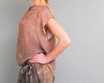 Silk Tunic Magnolia