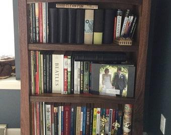 Arts & Crafts Walnut Bookcase