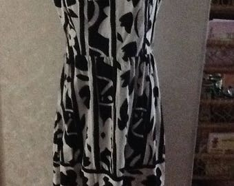 Volup Size 14 1950s inspired fit and flare dress