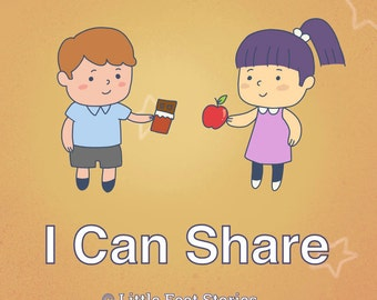 I Can Share - Social Story about Sharing