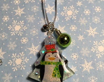 Penguin and  Snowman Christmas Ornaments