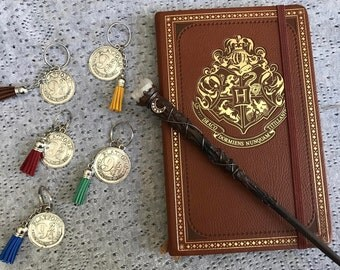 Harry Potter Inspired // Platform 9 3/4 Tassel Keychain *Custom Colors*