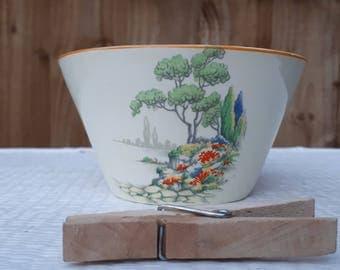 Pretty Midwinter Berslem Porcelon Bowl 1946-1953