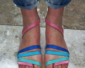 Sandals Womens, Womens Sandals,Leather Sandals, Greek Sandals,Handmade Sandals, Ladies Sandals, Pink Sandals,SUMMER GREEK