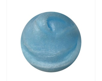 Sky blue jelly slime