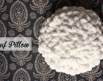 Ultra Soft Pouf Pillow