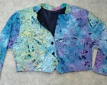 short vintage blazer