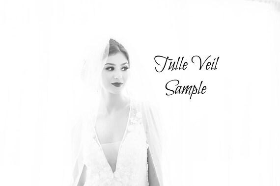 Veil sample, Tulle sample, Veiling sample,Swatch sample
