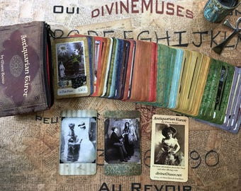 Antiquarian Tarot Deck/Book - USA/CANADA