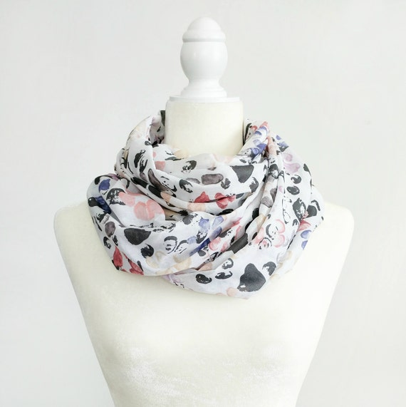 Infinity Scarf / Petal Paws Exclusive Print