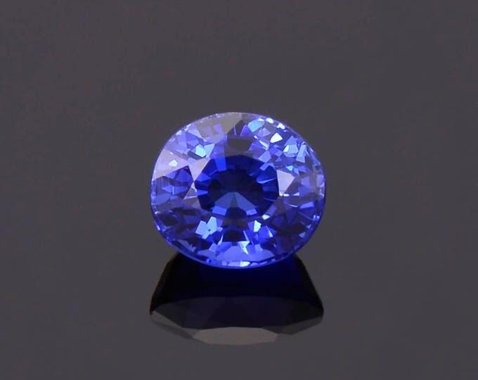 Gorgeous Deep Ceylon Blue Sapphire Gemstone from Sri Lanka 1.62 cts.