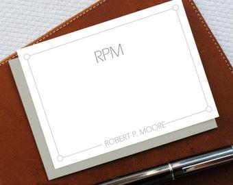 Personalized Monogram Stationery, Monogram Stationery Note Cards, BUSINESS Stationery, Personalized Stationery Set, New Job Gift, MNC029