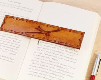 Glider Bookmark Hand Carved Leather Bookmark Glider Pilot Gift Flying Gift For Him Glider Gift Pilot Bookmark New Pilot Gift For Husband