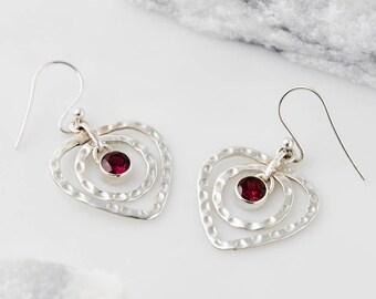 Statement Earrings,Dangle Earrings,Drop Earrings,Boho Earrings,Dangly Earrings,January Jewelry,Bridesmaid Earrings,Silver Earrings, JE247