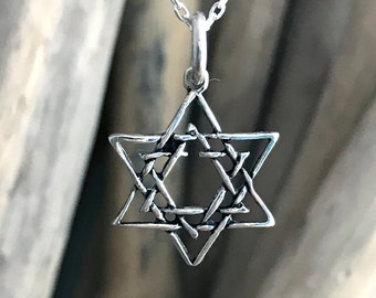 Star of David Necklace TAL020