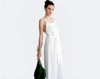 Simple wedding dress etsy for Loose fitting wedding dresses