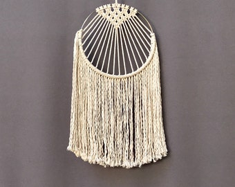 Macrame Wall Hanging, Modern Macrame, Boho Decor, Bohemian, Macrame Wall hanging, Home Decor, Modern dream catcher,