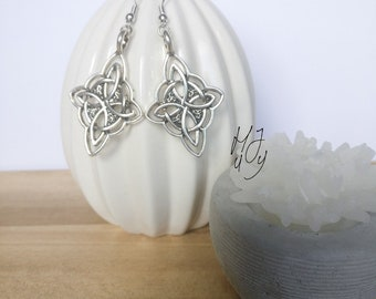 Earrings Celtic, earrings Celtic knot, earrings knot