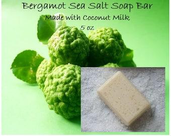 Bergamot Sea Salt Soap Bar 5 oz